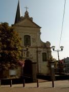 Barokke kerkgevel Broechem