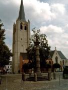 Schandpaal en kerk, Wommelgem