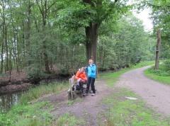 Picknick langs de Linie in het Stropersbos