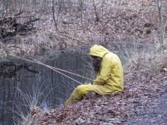 Een visser aan de Duivelskuil?