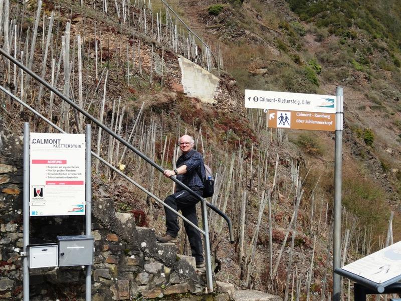 Klettersteig Cochem : Infosystem · calmont klettersteig ediger eller