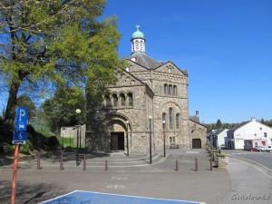 Achthoekige, neo-byzantijnse Maria-Hemelvaartkerk van Plombières