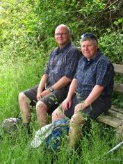 Picknick in Partnerlook: Wandergesellin An und ich