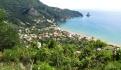 Zicht op Agios Gordis