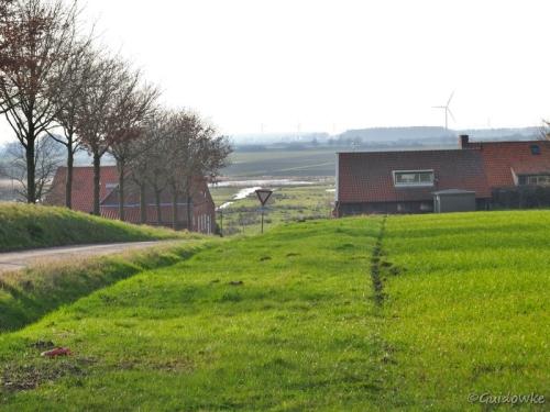 Van Brabantse Wal naar polder