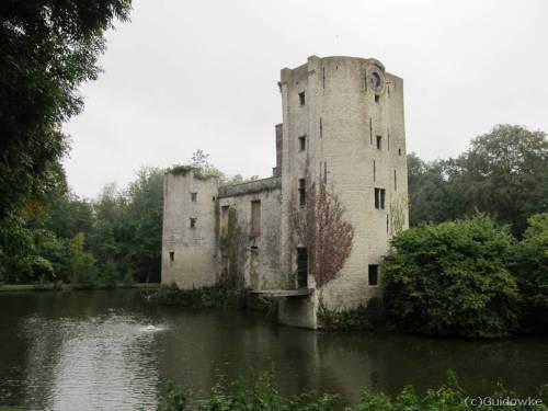 Het Prinsenkasteel was sinds de 14de eeuw de verblijfplaats van de heren van Grimbergen
