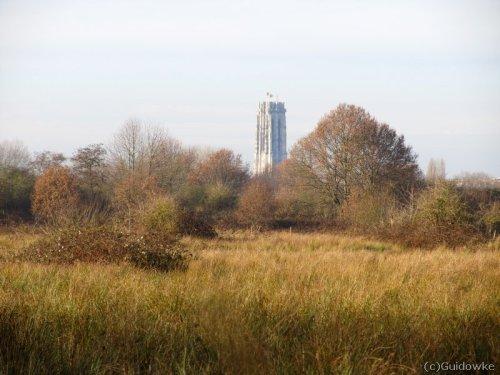 De St-Romboutstoren komt in zicht